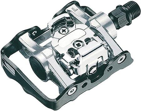 Onogal Pedales Mixtos Spd Automatico Compatible con Shimano + ...