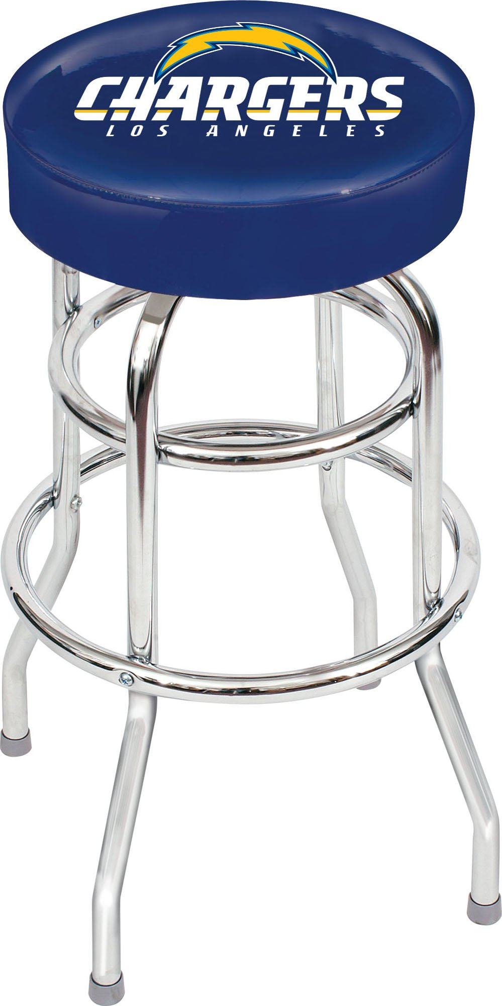 Imperial Officially Licensed NFL Furniture: Swivel Seat Bar Stool, Los Angeles Chargers