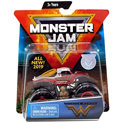 MJ New 2020 Monster JAM 1:64 Scale Wonder Woman: Toys & Games