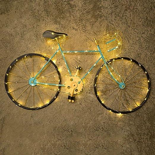 QBZS decoración de Pared Bicicleta Vintage de Hierro Colgante de ...