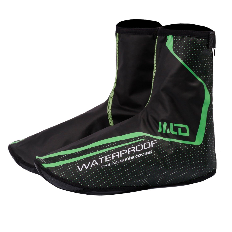 Fundas de neoppreno West Biking para calzado para hombre West Biking, resistente al viento, al agua, térmicos, color negro, Black green, X-Large: Amazon.es: ...