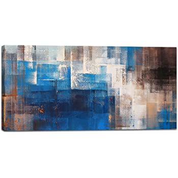 Amazon.com: Abstract Wall Art Canvas Print Picture Painting for ...