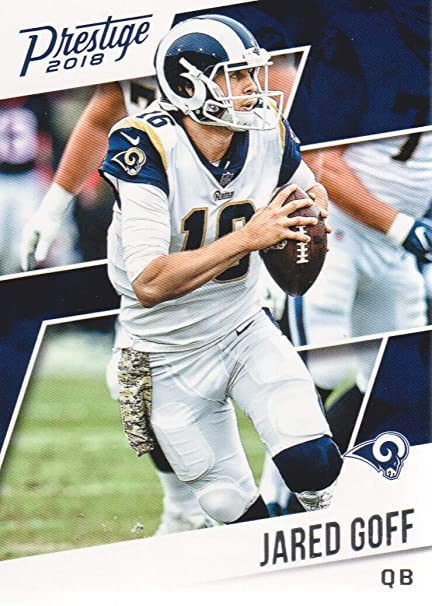 592f91bf 2018 Prestige Football #83 Jared Goff Los Angeles Rams at Amazon's ...
