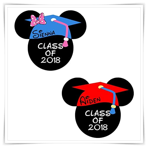 amazon com personalized disney inspired graduation mouse head