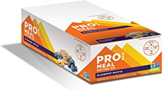 product image for PROBAR - Meal Bar, Blueberry Muffin, Non-GMO, Gluten-Free, Healthy, Plant-Based Whole Food Ingredients, Natural Energy (12 Count), 3 Ounce (Pack of 12)
