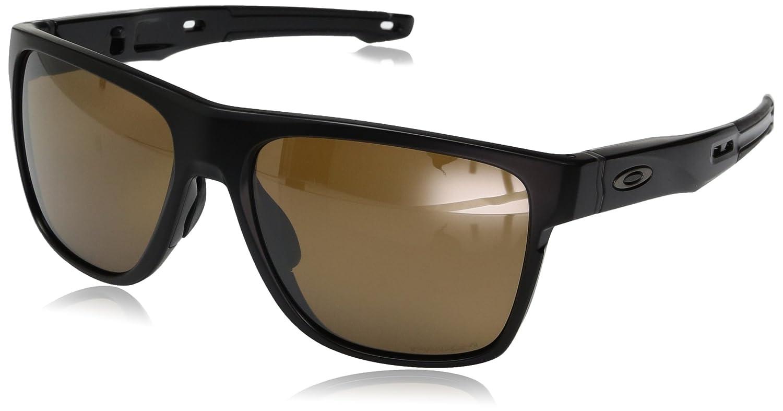 5ac8f165a8 Oakley Crossrange R 935902, Gafas de Sol para Hombre, Matte Black, 57 85