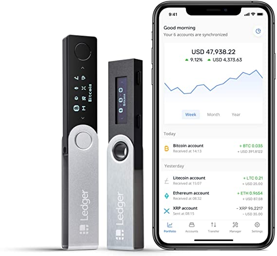 Ledger Backup Pack - Nano S + Nano X - Monedero Hardware de criptomoneda