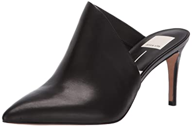be28d51d01 Dolce Vita Women's Camala Mule, Black Leather, ...