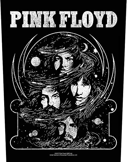 XLG Pink Floyd Cosmic Faces Back Patch English Rock Band Sew on Applique