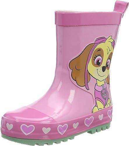 Paw Patrol Girls Kids Rainboots Boots, Bottes & Bottines de Pluie Fille