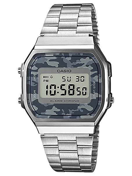 Amazon.com: Watch Casio Collection A168wec-1ef Unisex Multicolour: Watches