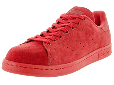 adidas stan smith scarpe da uomo rosso / potere rosso s75109