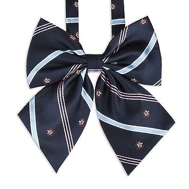 ba7abf493241e4 Amazon.co.jp: リボン スクール ネクタイ 制服 リボンJK 高校生 女子高生 コスチューム用小物 サイズ調整可能: 服&ファッション小物