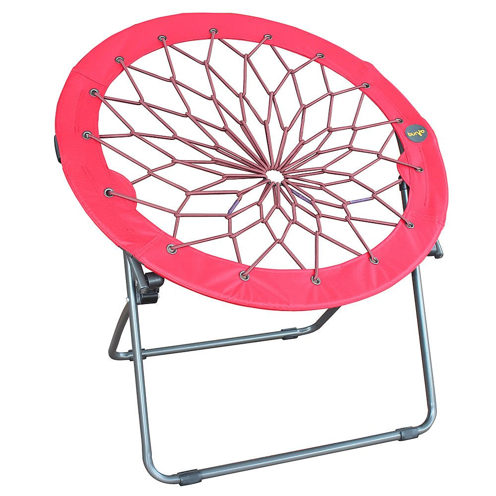 Bon Amazon.com: Round Bungee Chair Red Folding Comfortable Lightweight Portable  Indoor Outdoor Use: Kitchen U0026 Dining