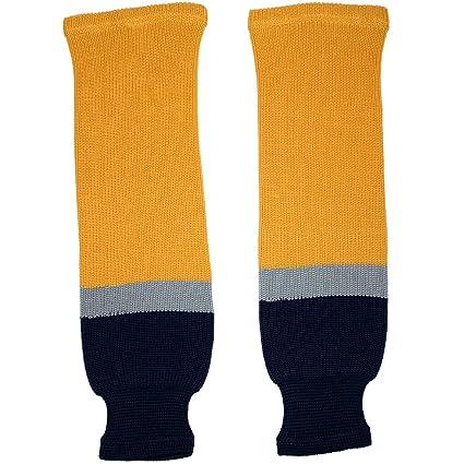 f2d5b4777c7 Amazon.com   TronX Buffalo Knit Hockey Socks   Sports   Outdoors