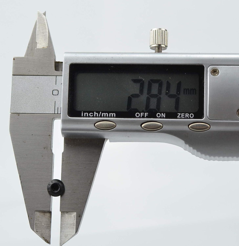 M2X3 XunLiu Grade 10.9 Alloy Steel Button Head Hex Socket Screws