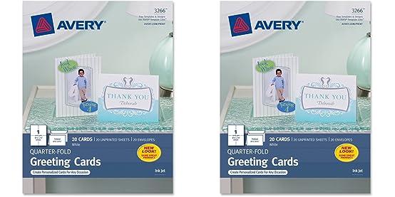 quarter fold greeting cards
