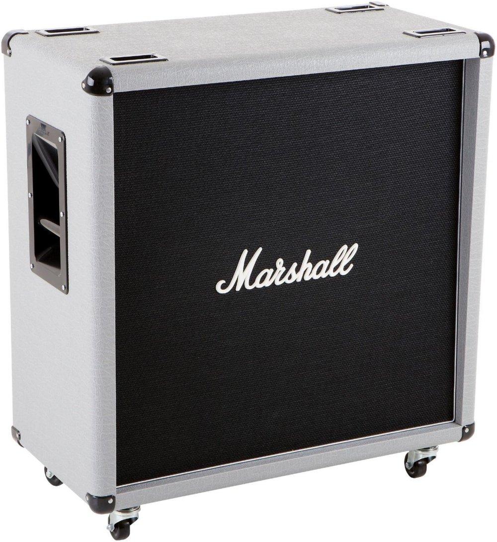 Marshall 2551BV Silver Jubilee Straight 4x12 Guitar Amp Speaker Cabinet