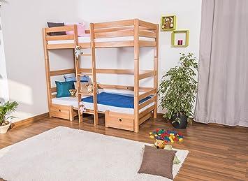 Etagenbett Umbaubar In 2 Einzelbetten : Kinderbett mit bettkasten tim umbaubar zu einem tisch bänken