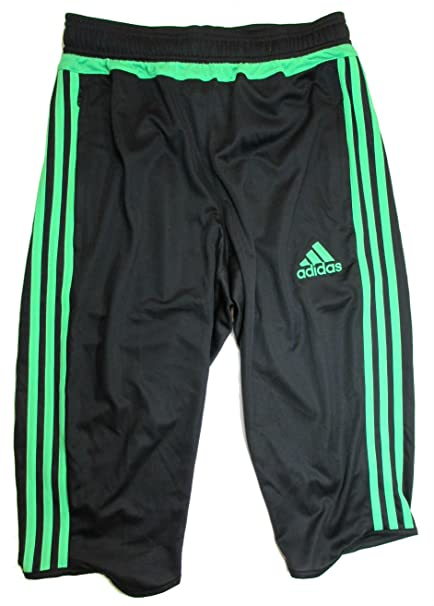 brand new ac40c 8f985 adidas Tiro 15 3/4 Length ClimaCool Training Pants, Black ...