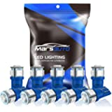 Marsauto 194 LED Bulb Blue 168 T10 2825 5SMD No Polarity Replacement Bulbs for Car Dome Map Door Courtesy License Plate…