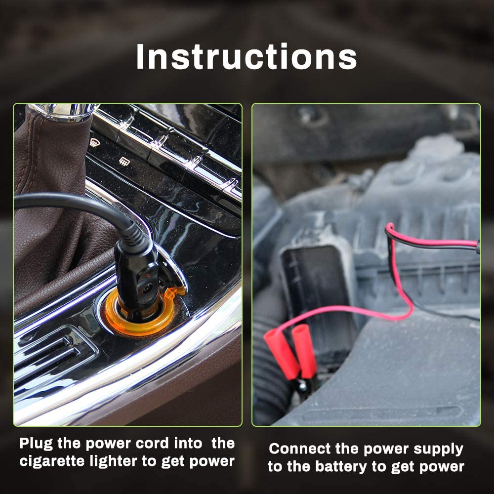 Anbull Electric Hydraulic Car Jack 15 Ton DC12V Automatic Floor ...