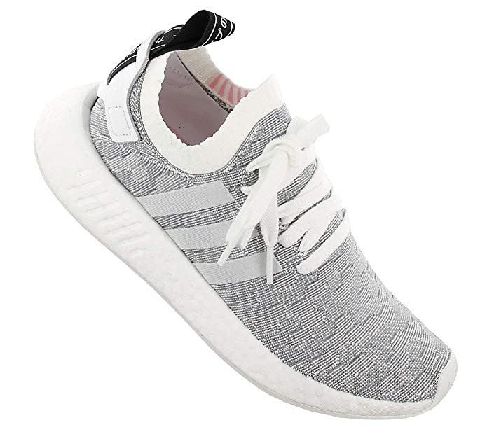 257a2e677832a7 adidas Originals NMD R2 PK W BY9520 Damen Schuhe Weiß-Grau Gr. EU 40 UK  6.5  Amazon.de  Schuhe   Handtaschen
