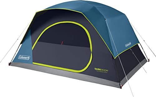 Coleman Camping Tent Dark Room Skydome Tent