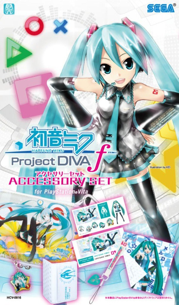 Hatsune Miku Project DIVA-f Accessories Set [Japan Import]