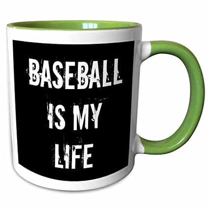 Amazon 60dRose Jacoba Sport Quotes Baseball Is My Life Black Adorable Baseball Life Quotes