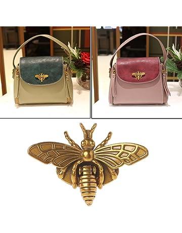 07f4f4ecd206 Hacloser Turn Lock for Purses Handbag Bee Shape Clasp Decoration Metal  Hardware DIY Shoulder Bag Making