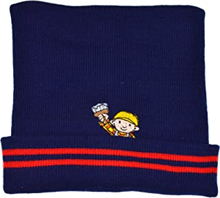Bob The Builder Hat Boys Knitted Winter Beanie