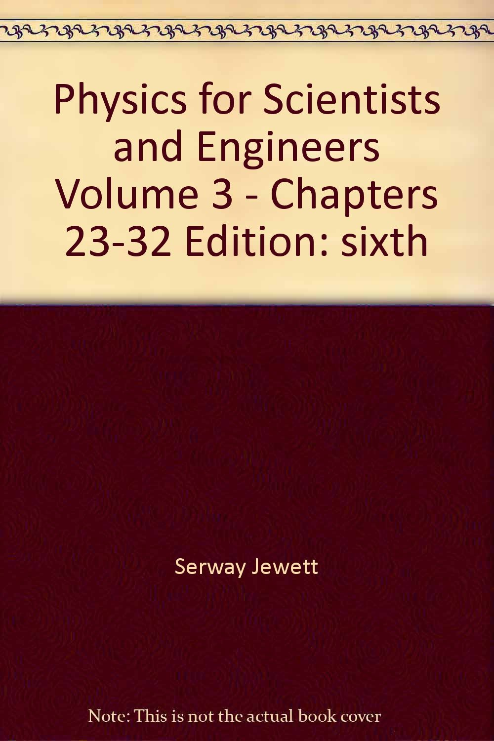 Download Physics for Scientists and Engineers, Volume 3 - Chapters 23-32 (3) ebook