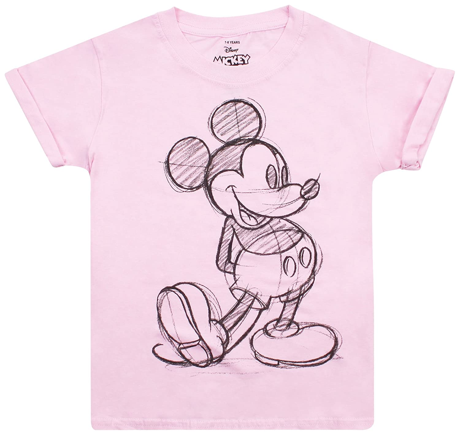Disney Minnie's Pink Bow, T-Shirt Fille
