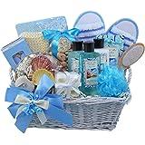 Seaside Getaway Spa Bath and Body Gift Basket Set