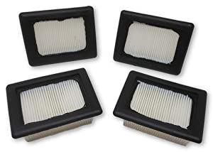 Zvac Compatible FloorMate HEPA Filters Replacement Hoover Filter Part # 40112050 59177051 59177- 125 & F916 for Hoover Floor mate H3044 H3030 FH40000 H3040 H2850 H3032 H2800 H3045 & H3000, White