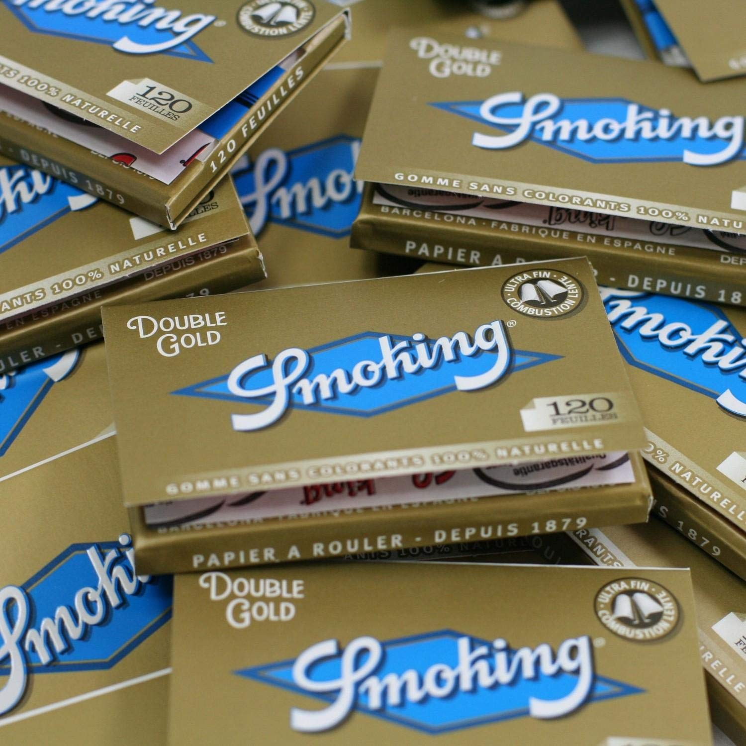Papel de fumar Smoking Oro x25 Regular