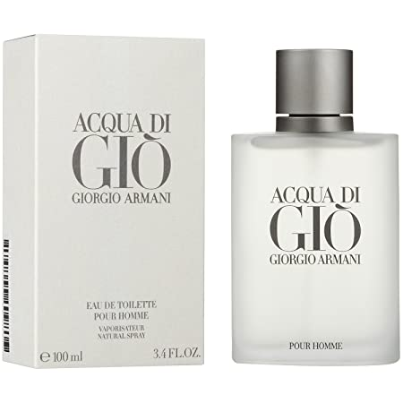 Giorg o Arman Acqua Di Gio Eau De Toilette Spray for Men 3.4 fl.oz