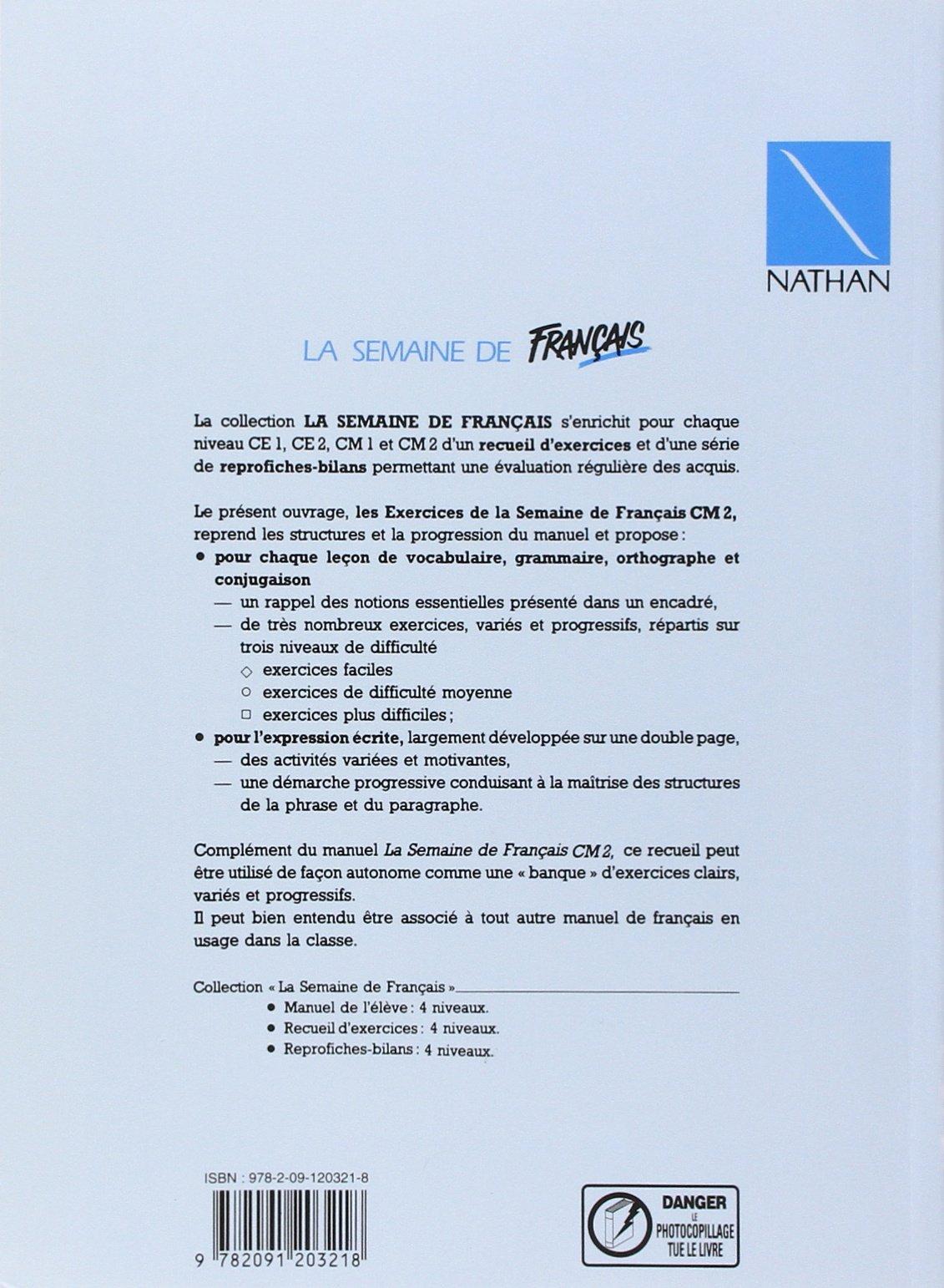 Francais Cm2 Cahier D Exercices Andre Kaizer Denise