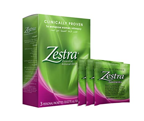 Zestra Essential Arousal Oils-3 pack-Oil: Amazon.in: Health ...