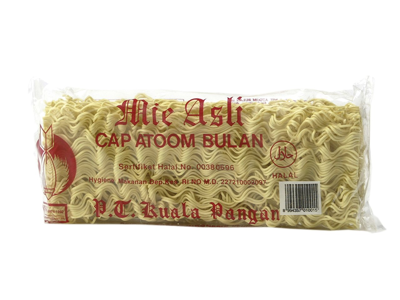 Atoom Bulan Mie Asli Dried Egg Noodles 200 G Pack Of 20 Amazonco Shirataki Grocery