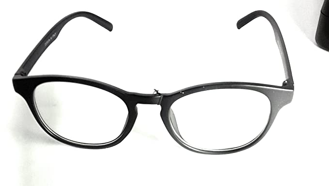 d2463ad8a610 Stylish Round Black Light weight Spectacles Frame  Amazon.in ...