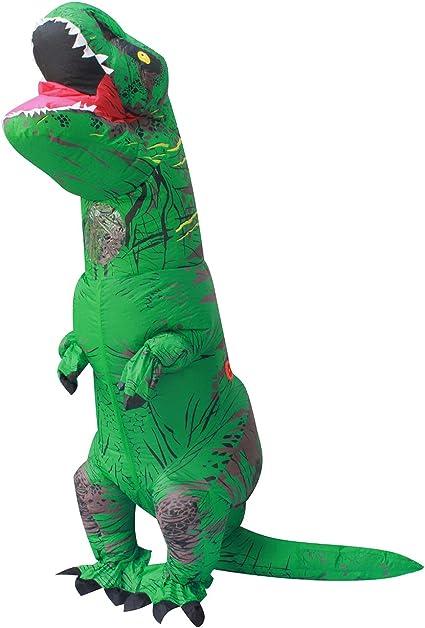 PARAYOYO T Rex Disfraz Dinosaurio Inflable Adulto T-Rex Trex ...