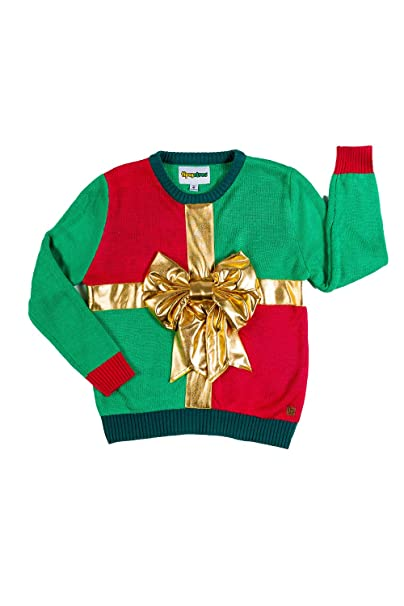 Tipsy Elves Child Sweater , Cute Ugly Xmas Sweater for Kids