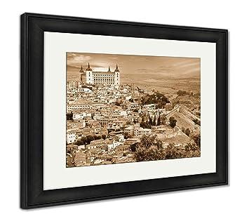 Amazon.com: Ashley Framed Prints Medieval Spain Toledo Over ...