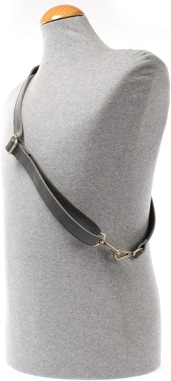 LECONI Trageriemen Schulterriemen l/ängenverstellbarer Trage-Gurt f/ür Damentaschen und Herrentaschen Leder 150cm 2,5x150cm LEC-R7