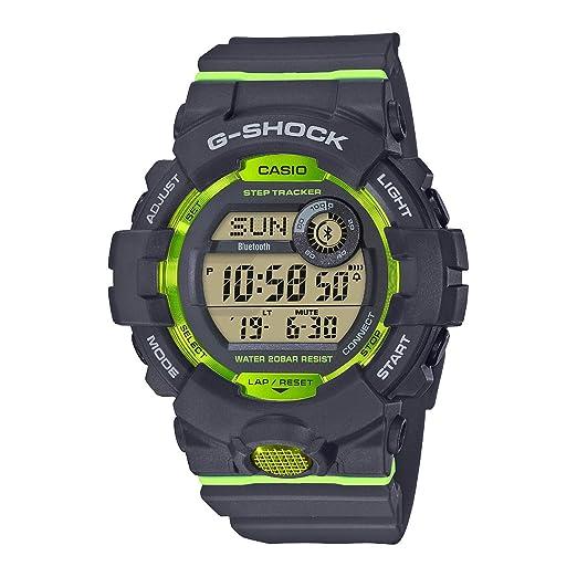 Casio Reloj Digital para Hombre de Cuarzo con Correa en Resina GBD-800-4ER: Amazon.es: Relojes