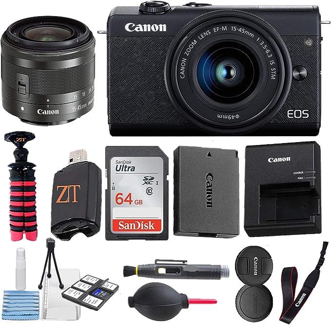 Canon EOS M200 Mirrorless Digital Camera 24.1MP Sensor: Amazon.co.uk: Camera & Photo