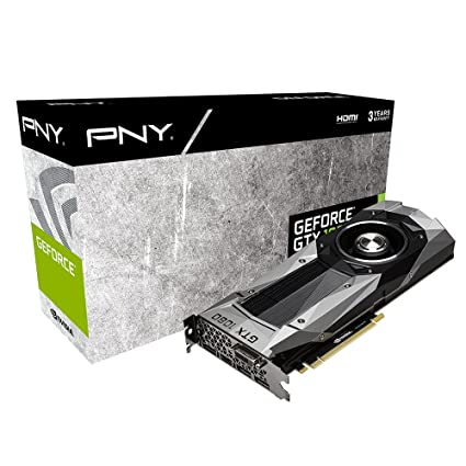 PNY GF1080GTX8GEPB - Tarjeta gráfica (GeForce GTX 1080, 8 GB, GDDR5X, 256 bit, 7680 x 4320 Pixeles, PCI Express x16 3.0)