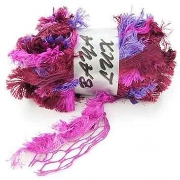 Laine à volant mignon baya lux echarpe - Bordeaux Fushia  Amazon.fr ... 7826914da8d